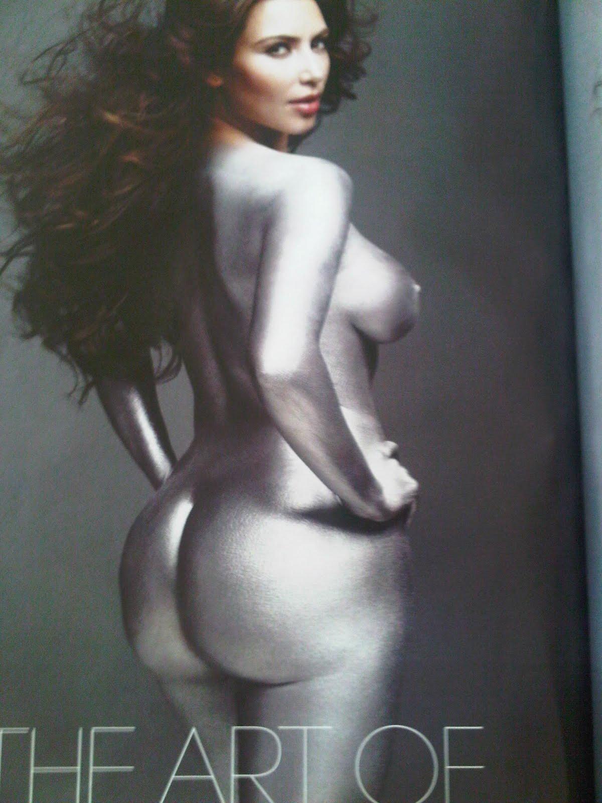 kim kardashian naked ass