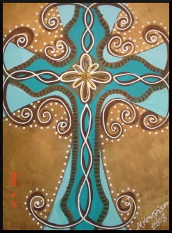 Misty Dixon Designs Cross Paintings