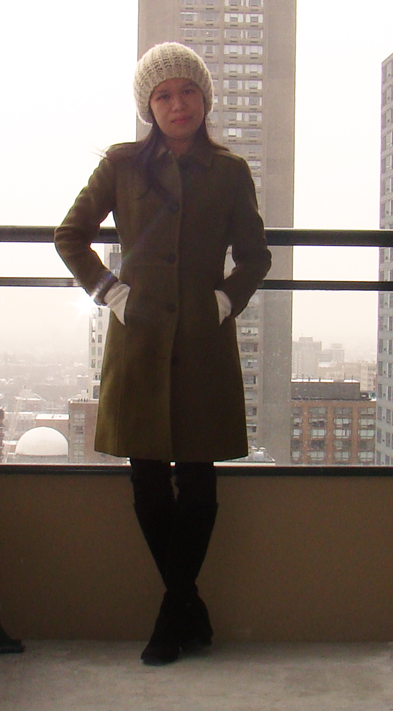 J Crew Double Cloth Lady Coat With Thinsulate Shorty Stories