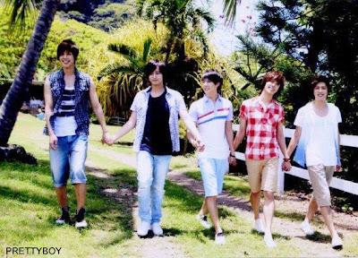 SS501 Band Members