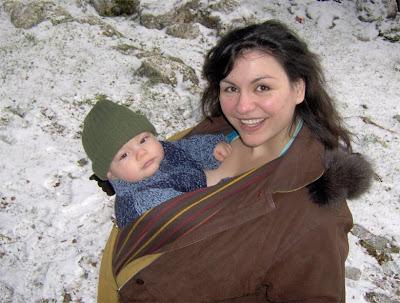 Με το μωρό, εκδρομή στα χιόνια!