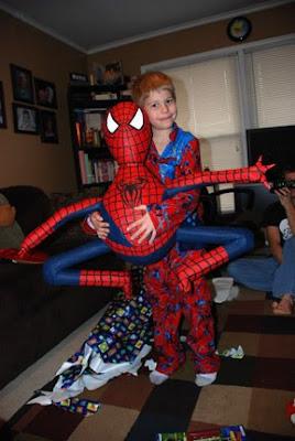 spider-man paper mache pinata