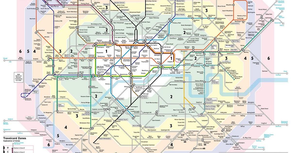 mapa de londres por zonas MAPA DE LONDRES mapa de londres por zonas