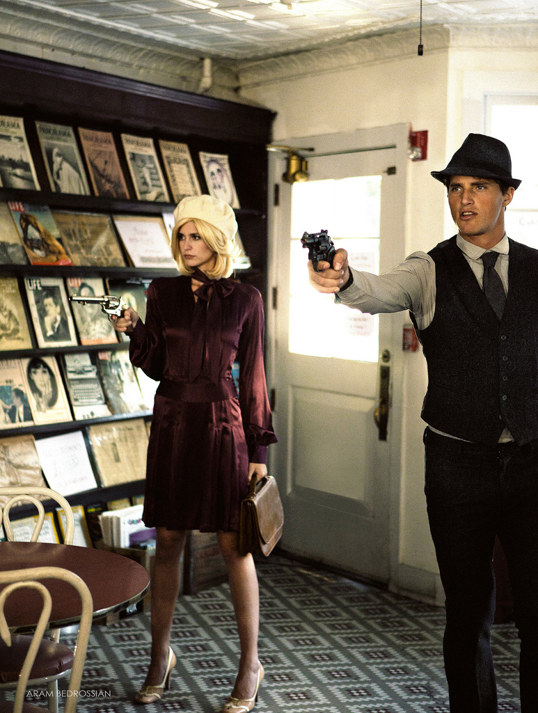 Absolute Sunday: Bonnie & Clyde Fashion Story