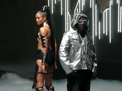 Ciara On The Set Of 'Go Girl' Video