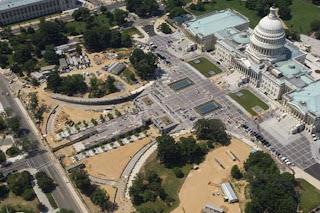 United States Capitol Building visitors center design
