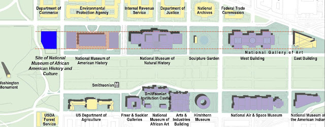 Smithsonian design competition, National Museum of African American history, Moshe Safdie, Moody Nolan, National Mall