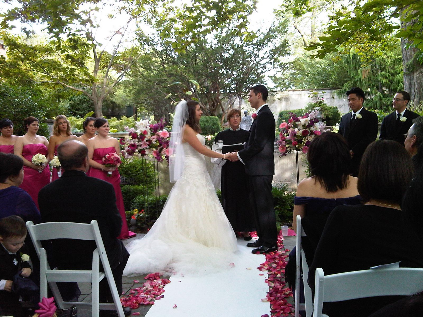 Event Confetti: Outdoor Wedding Ceremony Locations In Buffalo