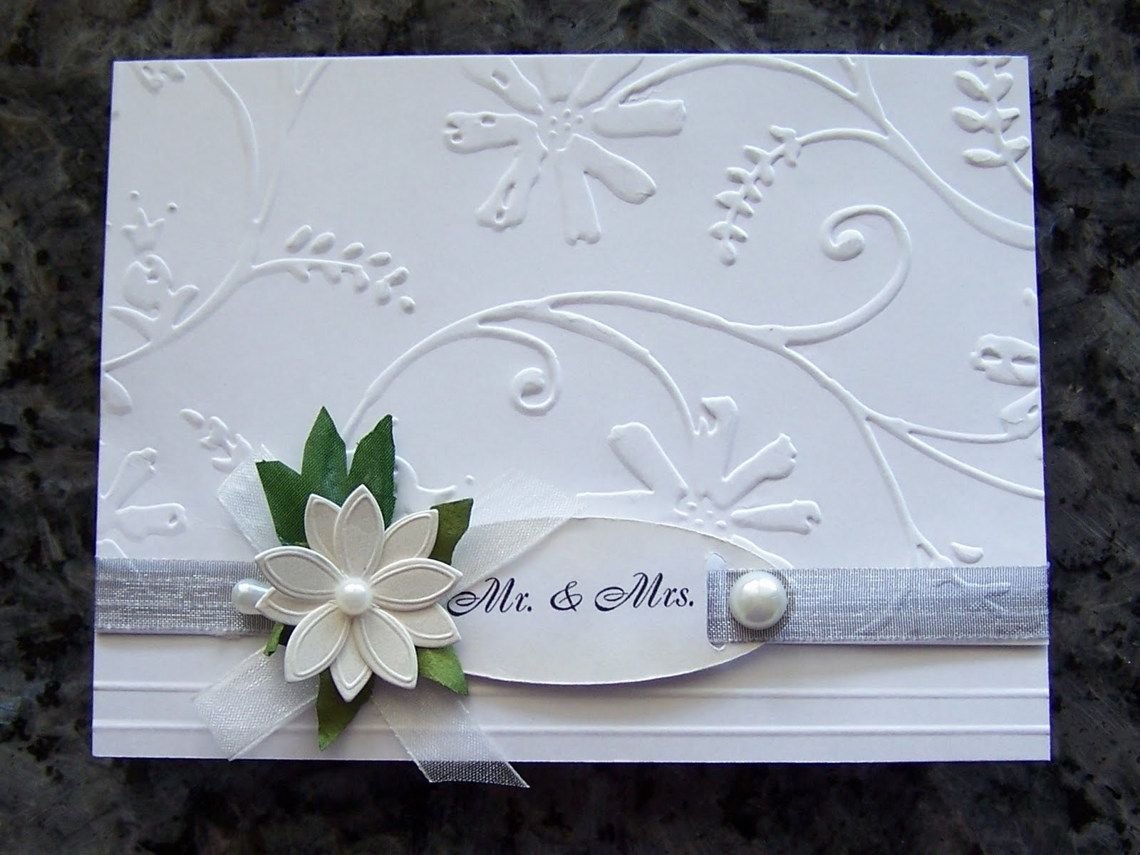 Paper In The Pines: SIMPLE WEDDING CARDS