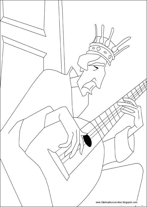 Fábrica dos Convites: Desenhos para Colorir do Despereaux
