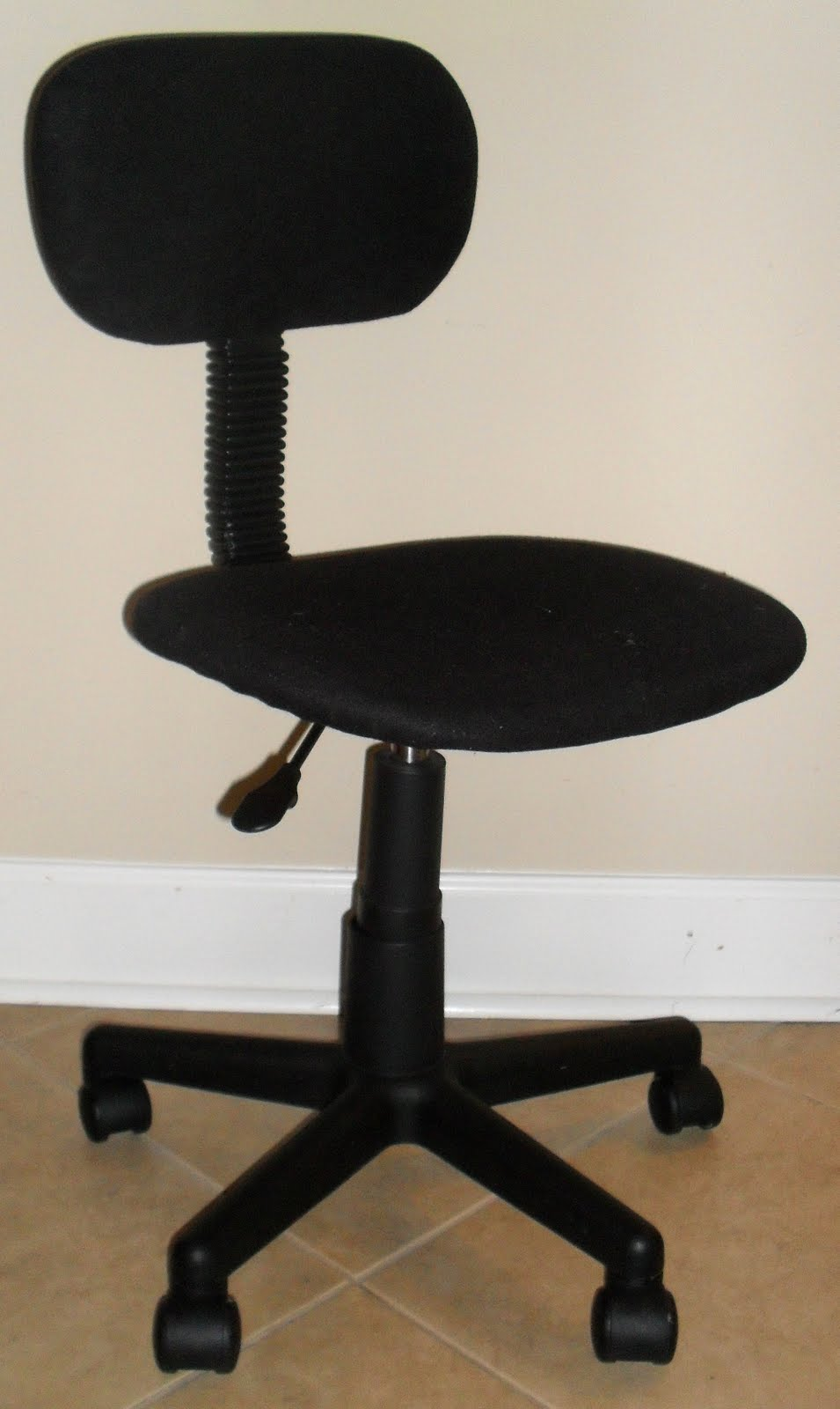 Brittney S Budget Crafts Office Chair Face Lift