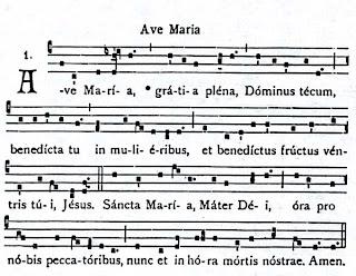Holy Roman Catholic Church Vs Vatican Council II: HAIL MARY IN