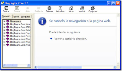Error en archivo .CHM