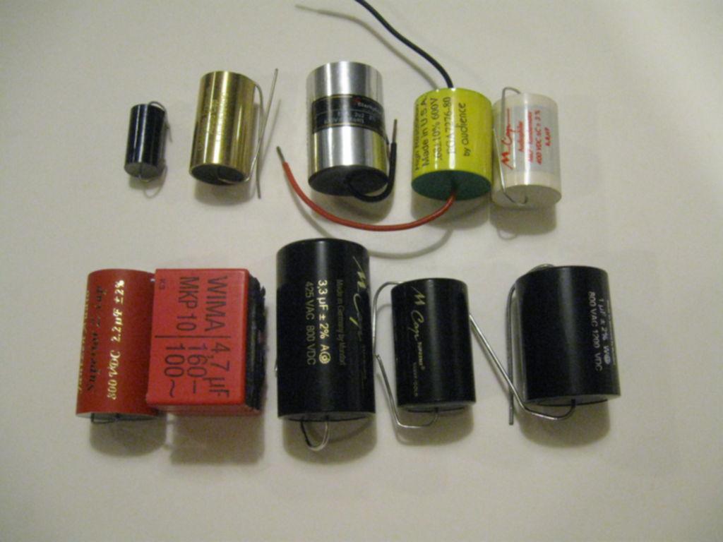 Eric's Hi-Fi Blog: Capacitor shoot out
