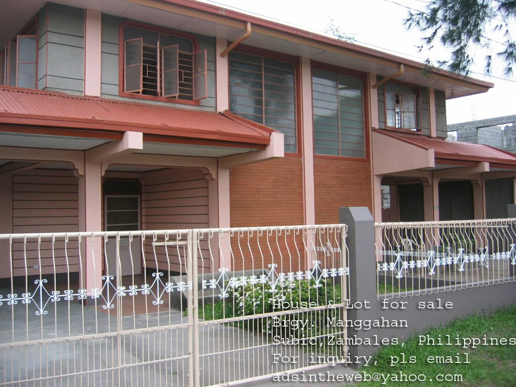 House And Lot For Sale Mangahan Subic Zambales House