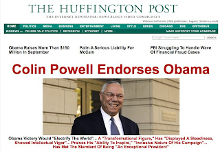 Image result for colin powell endorses obama