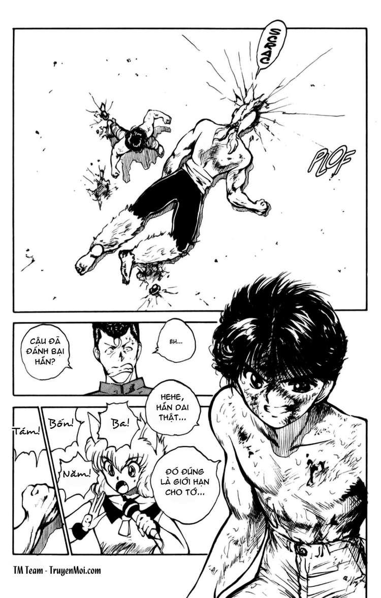 Hành trình của Uduchi chap 060: thử thách của kiếm sĩ, trận chiến tử thần trang 14