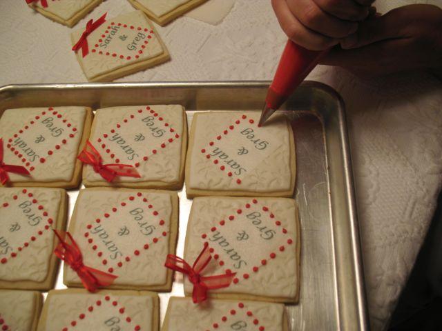 Wedding Rehearsal Dinner Gifts: XOXO Cookies: Rehearsal Dinner Favors