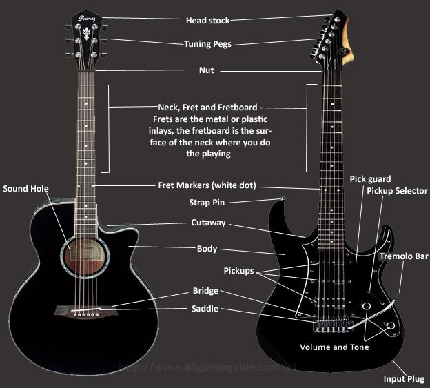 chord tutorial tutorial basic anatomy of a guitar. Black Bedroom Furniture Sets. Home Design Ideas