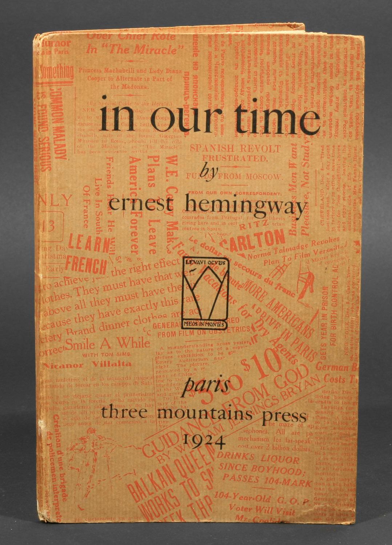 English With Mccabe 1a Amp 1b Ernest Hemingway 1899 1961