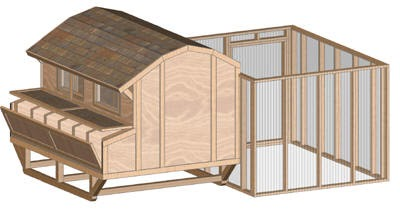 How To Build A Chicken Coop Free Woodworking Project Plans
