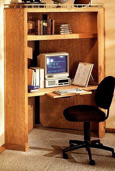 Corner Desk Free Woodworking Project Plans