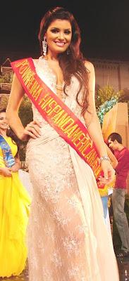 Resultado de imagem para vivian noronha miss reina hispanoamericana 2008