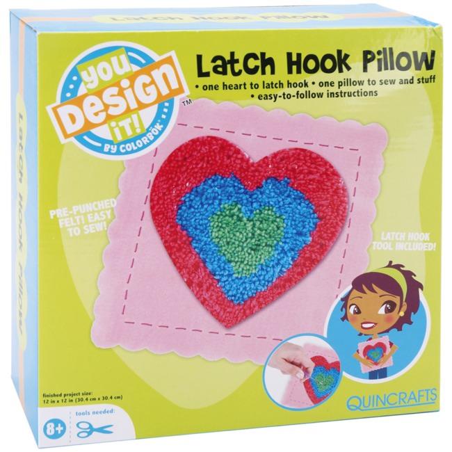 Weekend Kits Blog: Latch Hook Kits for Kids - Fun Pillow ...