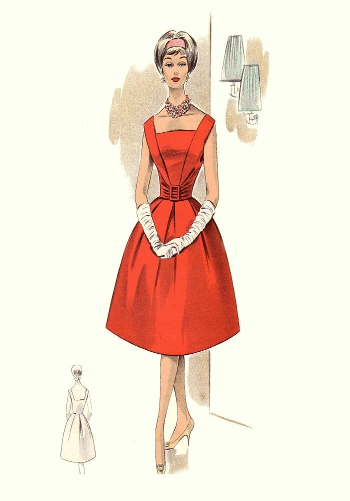 Vintage clothing era1960s'-1970s' fashion part2