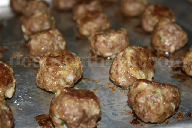 Deep South Dish: Basic Homemade Meatballs