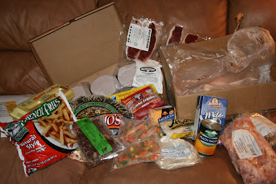 My New 30 Angel Food Ministries April Boxes