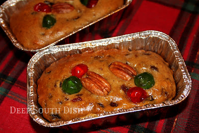 Even if you think you don't like fruitcake, I'll bet you'll love this heirloom recipe. It can be made into mini loaves as pictured, bar or drop cookies or even as a bundt cake!
