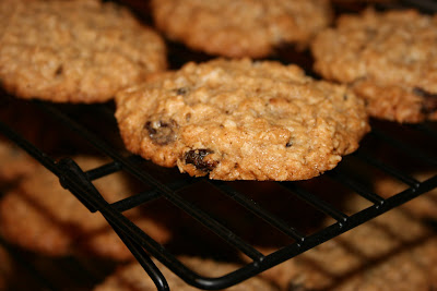 My favorite oatmeal raisin cookie from Quaker Oats, with the addition of chopped nuts.