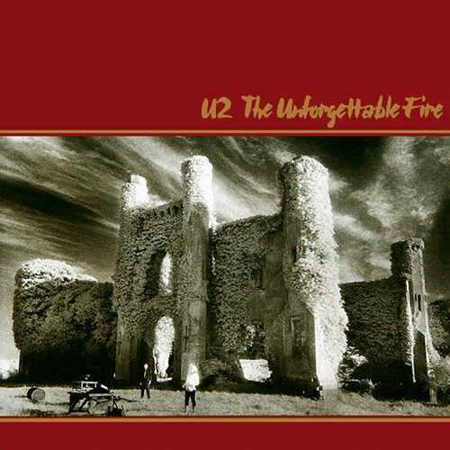 the unforgetable fire u2 album cover