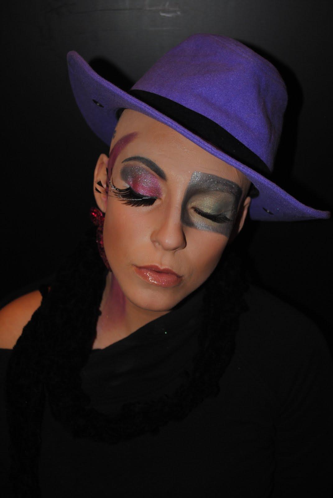 Sarah Bahlibi Makeup: Boy George inspired