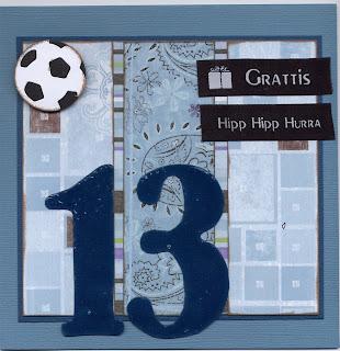 13 års kort Ankis plats: GRATTIS tonåring 13 års kort