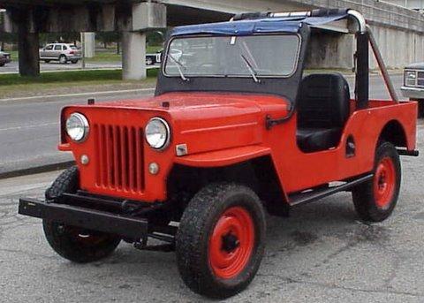 Mahindra Cj Long Wheelbase Restored
