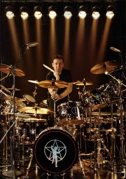 anthony dio on drums