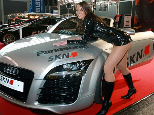 Sport Cars And The Concept Audi Sexy Girls Women Gallery