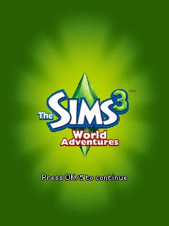 sos gamer de celular the sims 3 world adventures 128x160 176x220 240x320
