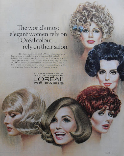 groovy gals of splashy '60s