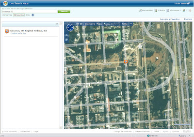 PQS Para que sepan Mapas de Argentina  GoogleMicrosoft