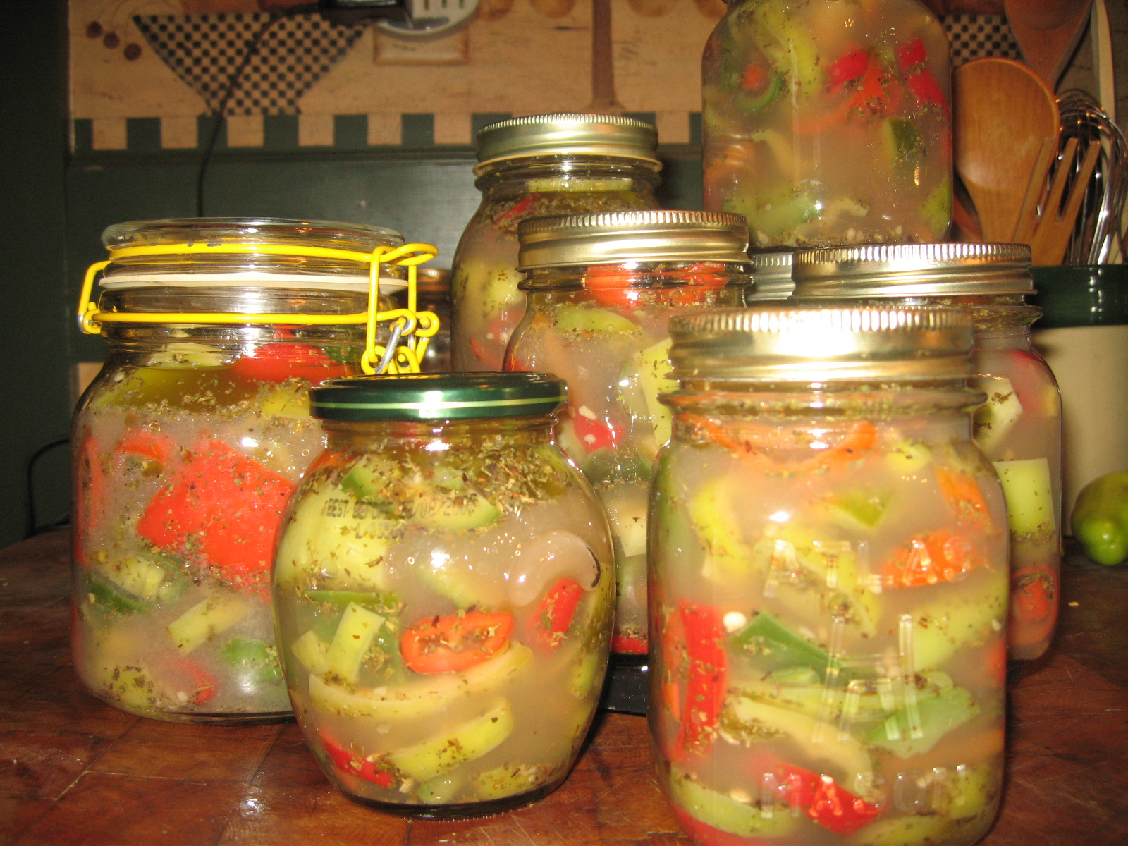 lacto fermented peppers the woodwife s journal