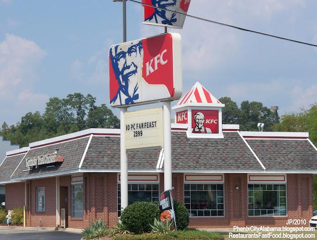 Kentucky Fried Chicken Quotes Quotesgram: Restaurant Fast Food Menu McDonald's DQ BK Hamburger Pizza