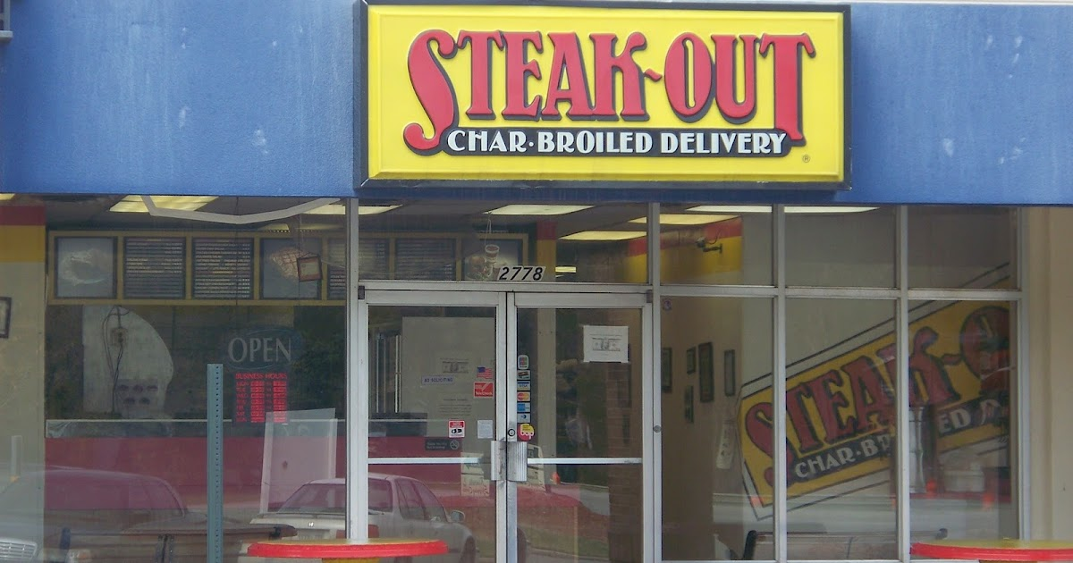 Steak Out Menu Macon Ga