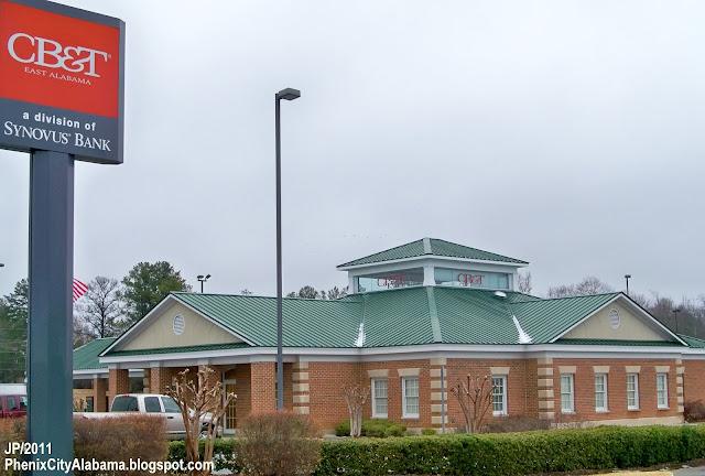 Phenix City Alabama Russell Cty Restaurant Bank Dr