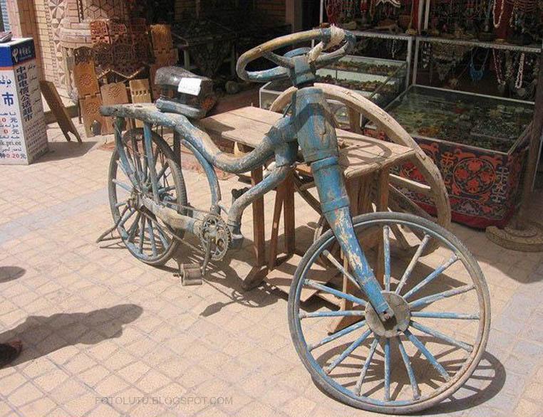 Kumpulan Foto Lucu Sepeda Jaman Jebot Banget