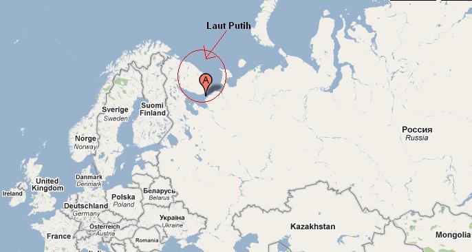 Lokasi Perobaan Rudal Di Laut Putih
