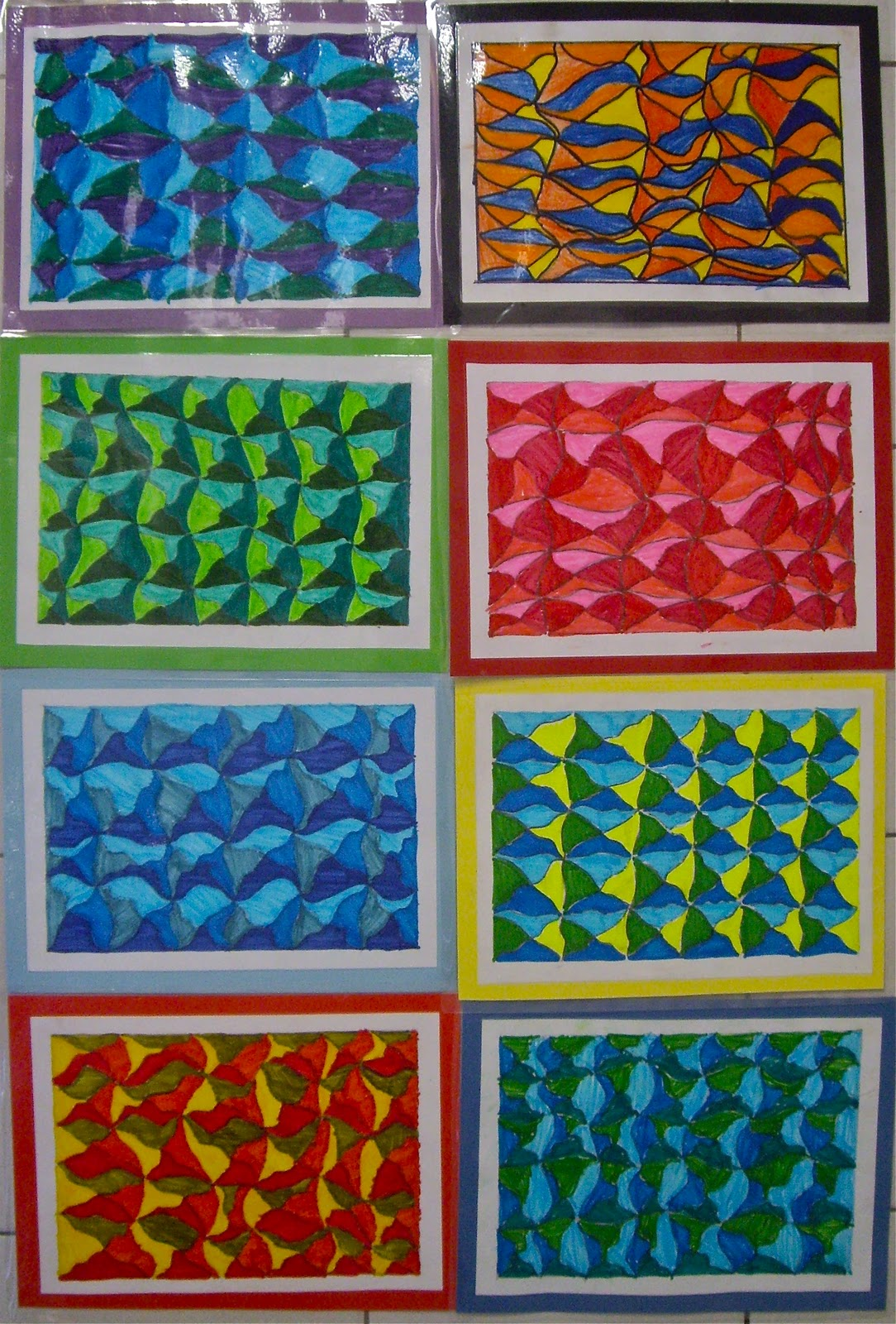 Use Your Coloured Pencils More Op Art Drawings