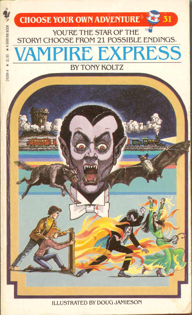 Spectrum Of Madness Choose Your Own Adventure Vampire